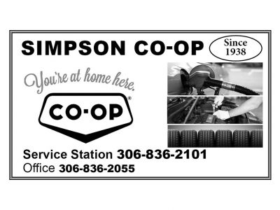 Simpson Co-op Service Station