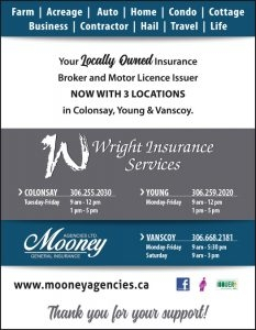 WRIGHT INSURANCE SERVICES A DIVISION OF MOONEY AGENCIES LTD