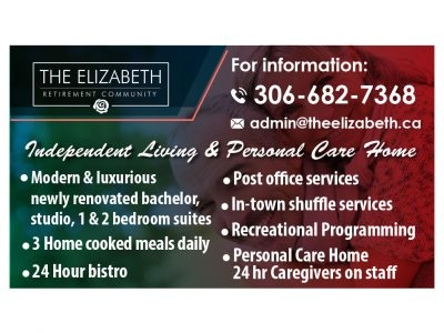 The Elizabeth Retirement Centre