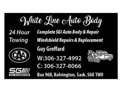 White Line Auto Body / 24 Hour Towing