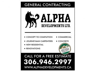 Alpha Developments Ltd.